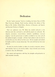 Page 7, 1959 Edition, Shaw University - Bear Yearbook (Raleigh, NC) online yearbook collection