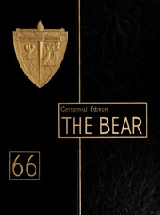 1966 Edition, Shaw University - Bear Yearbook (Raleigh, NC)