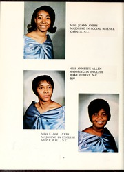 Page 14, 1969 Edition, Shaw University - Bear Yearbook (Raleigh, NC) online yearbook collection