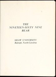 Page 5, 1969 Edition, Shaw University - Bear Yearbook (Raleigh, NC) online yearbook collection