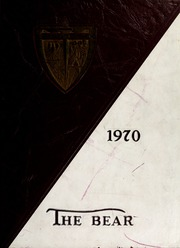 1970 Edition, Shaw University - Bear Yearbook (Raleigh, NC)