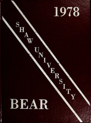 1978 Edition, Shaw University - Bear Yearbook (Raleigh, NC)
