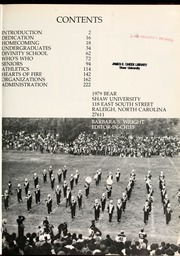 Page 5, 1979 Edition, Shaw University - Bear Yearbook (Raleigh, NC) online yearbook collection
