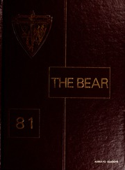 1981 Edition, Shaw University - Bear Yearbook (Raleigh, NC)
