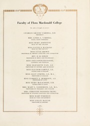 Page 17, 1921 Edition, Flora Macdonald College - White Heather Yearbook (Red Springs, NC) online yearbook collection
