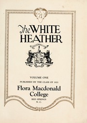 Page 5, 1921 Edition, Flora Macdonald College - White Heather Yearbook (Red Springs, NC) online yearbook collection
