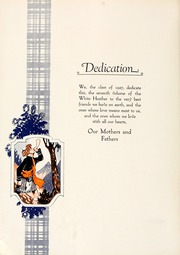Page 10, 1927 Edition, Flora Macdonald College - White Heather Yearbook (Red Springs, NC) online yearbook collection