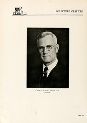 Page 14, 1927 Edition, Flora Macdonald College - White Heather Yearbook (Red Springs, NC) online yearbook collection