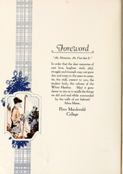 Page 8, 1927 Edition, Flora Macdonald College - White Heather Yearbook (Red Springs, NC) online yearbook collection