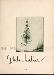 Page 9, 1936 Edition, Flora Macdonald College - White Heather Yearbook (Red Springs, NC) online yearbook collection