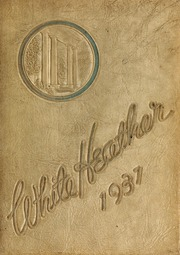 Flora Macdonald College - White Heather Yearbook (Red Springs, NC) online yearbook collection, 1937 Edition, Page 1