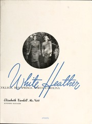 Page 7, 1947 Edition, Flora Macdonald College - White Heather Yearbook (Red Springs, NC) online yearbook collection