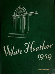 Flora Macdonald College - White Heather Yearbook (Red Springs, NC) online yearbook collection, 1949 Edition, Page 1