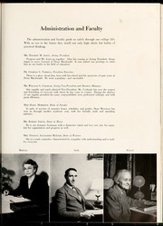 Page 17, 1950 Edition, Flora Macdonald College - White Heather Yearbook (Red Springs, NC) online yearbook collection