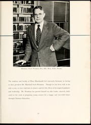 Page 15, 1951 Edition, Flora Macdonald College - White Heather Yearbook (Red Springs, NC) online yearbook collection