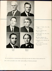 Page 16, 1951 Edition, Flora Macdonald College - White Heather Yearbook (Red Springs, NC) online yearbook collection