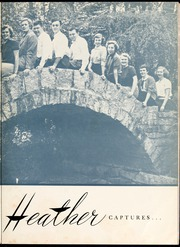 Page 7, 1951 Edition, Flora Macdonald College - White Heather Yearbook (Red Springs, NC) online yearbook collection