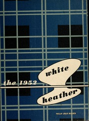 Flora Macdonald College - White Heather Yearbook (Red Springs, NC) online yearbook collection, 1952 Edition, Page 1