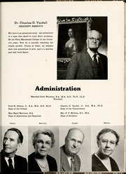 Page 11, 1953 Edition, Flora Macdonald College - White Heather Yearbook (Red Springs, NC) online yearbook collection