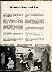 Page 15, 1953 Edition, Flora Macdonald College - White Heather Yearbook (Red Springs, NC) online yearbook collection