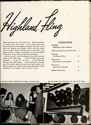 Page 9, 1953 Edition, Flora Macdonald College - White Heather Yearbook (Red Springs, NC) online yearbook collection