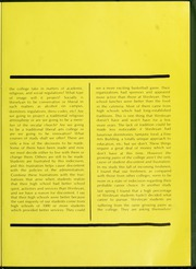 Page 15, 1969 Edition, North Carolina Wesleyan College - Dissenter Yearbook (Rocky Mount, NC) online yearbook collection