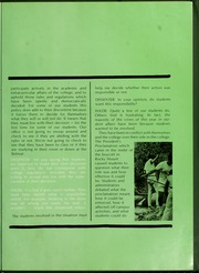 Page 17, 1969 Edition, North Carolina Wesleyan College - Dissenter Yearbook (Rocky Mount, NC) online yearbook collection