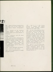 Page 7, 1969 Edition, North Carolina Wesleyan College - Dissenter Yearbook (Rocky Mount, NC) online yearbook collection