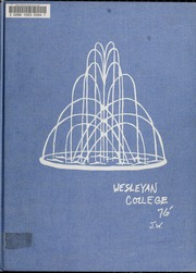 1976 Edition, North Carolina Wesleyan College - Dissenter Yearbook (Rocky Mount, NC)