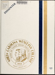 1977 Edition, North Carolina Wesleyan College - Dissenter Yearbook (Rocky Mount, NC)