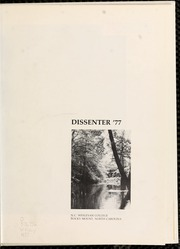 Page 5, 1977 Edition, North Carolina Wesleyan College - Dissenter Yearbook (Rocky Mount, NC) online yearbook collection