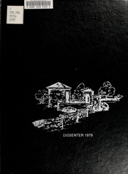 1979 Edition, North Carolina Wesleyan College - Dissenter Yearbook (Rocky Mount, NC)