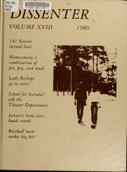 1980 Edition, North Carolina Wesleyan College - Dissenter Yearbook (Rocky Mount, NC)