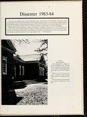 Page 5, 1984 Edition, North Carolina Wesleyan College - Dissenter Yearbook (Rocky Mount, NC) online yearbook collection