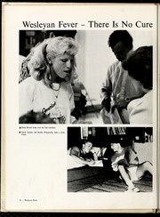Page 14, 1987 Edition, North Carolina Wesleyan College - Dissenter Yearbook (Rocky Mount, NC) online yearbook collection