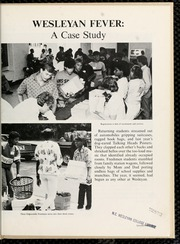 Page 7, 1987 Edition, North Carolina Wesleyan College - Dissenter Yearbook (Rocky Mount, NC) online yearbook collection