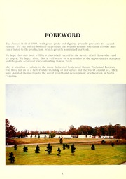 Page 8, 1969 Edition, Rowan Cabarrus Community College - Spectrum Yearbook (Salisbury, NC) online yearbook collection