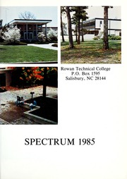 Page 5, 1985 Edition, Rowan Cabarrus Community College - Spectrum Yearbook (Salisbury, NC) online yearbook collection