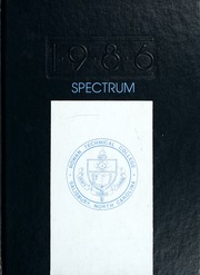 1986 Edition, Rowan Cabarrus Community College - Spectrum Yearbook (Salisbury, NC)