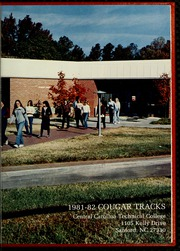 Page 5, 1982 Edition, Central Carolina Community College - Cencaro Yearbook (Sanford, NC) online yearbook collection