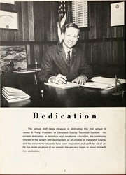 Page 12, 1969 Edition, Cleveland Community College - Bridge Yearbook (Shelby, NC) online yearbook collection
