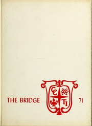 Page 1, 1971 Edition, Cleveland Community College - Bridge Yearbook (Shelby, NC) online yearbook collection