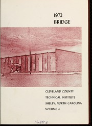 Page 5, 1972 Edition, Cleveland Community College - Bridge Yearbook (Shelby, NC) online yearbook collection