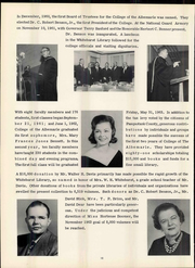Page 14, 1960 Edition, College of the Albemarle - Beacon Yearbook (Elizabeth City, NC) online yearbook collection