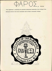Page 5, 1960 Edition, College of the Albemarle - Beacon Yearbook (Elizabeth City, NC) online yearbook collection
