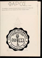 Page 5, 1963 Edition, College of the Albemarle - Beacon Yearbook (Elizabeth City, NC) online yearbook collection