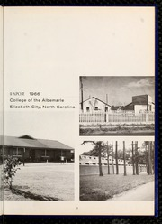Page 7, 1966 Edition, College of the Albemarle - Beacon Yearbook (Elizabeth City, NC) online yearbook collection