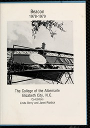 Page 5, 1979 Edition, College of the Albemarle - Beacon Yearbook (Elizabeth City, NC) online yearbook collection