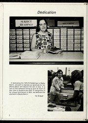 Page 10, 1976 Edition, Southeastern Community College - Ramblings Yearbook (Whiteville, NC) online yearbook collection