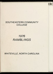 Page 5, 1976 Edition, Southeastern Community College - Ramblings Yearbook (Whiteville, NC) online yearbook collection